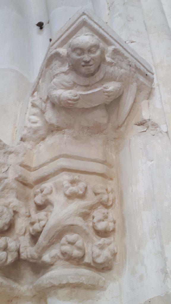 Détail _l_église_Saint_Hélain_de_Bisseuil