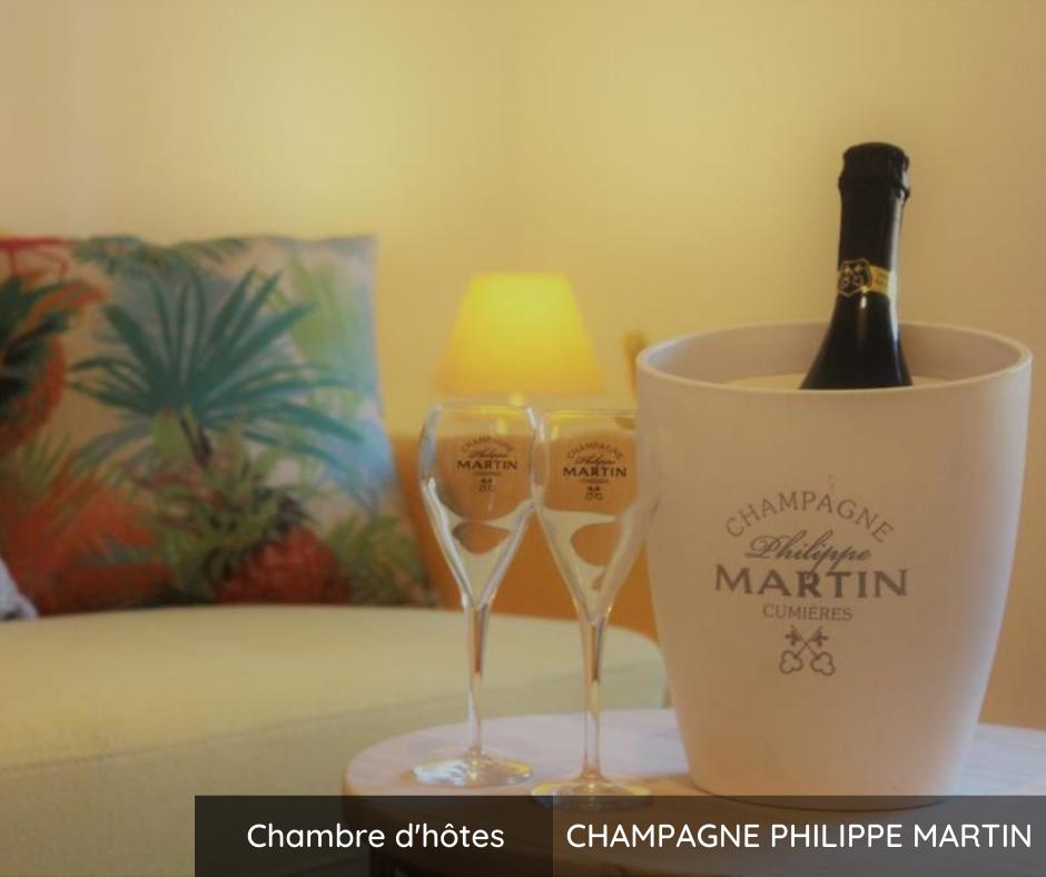Chambre d'hôtes Champagne Philippe Martin